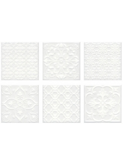Керамическая плитка 20х20 Суррей белый