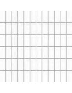 Albir Bianco (matowa) MOZAIKA 30 x 30 - płytki uniwersalne (kostka 2,3 x 4,8)