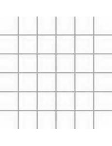 Albir Bianco (matowa) MOZAIKA 30 x 30 - płytki uniwersalne (kostka 4,8 x 4,8)