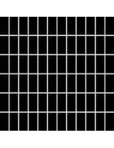 Albir Nero (matowa) MOZAIKA 30 x 30 - płytki uniwersalne (kostka 2,3 x 4,8)