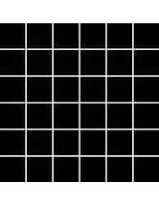 Albir Nero (matowa) MOZAIKA 30 x 30 - płytki uniwersalne (kostka 4,8 x 4,8)