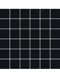 Bellicita Nero MOZAIKA CIĘTA 29,8 x 29,8 (kostka 4,8 x 4,8)