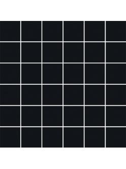 Плитка Bellicita Nero MOZAIKA CIĘTA 29,8 x 29,8 (kostka 4,8 x 4,8)