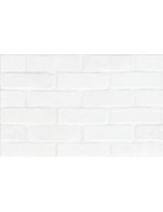 Cersanit White Bricks Structure 25X40
