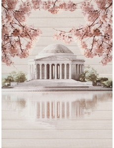 Cersanit Sakura Панно Палац 45 x 60