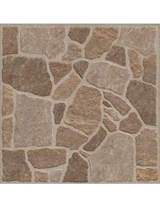 Golden Tile Cortile коричневый 40х40