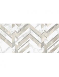 Golden Tile Marmo Bianco шеврон 30x60