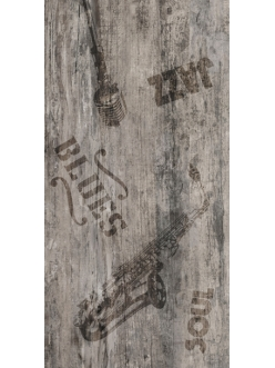 Vesta коричневый декор ректификат