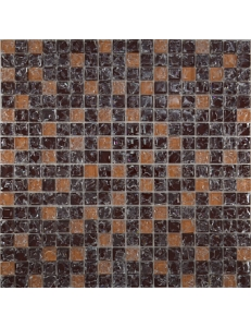 Grand Kerama Мозаика 451 микс коричневый колотый-бежевый колотый 30х30
