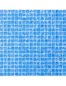 Grand Kerama Мозаика 446 моно голубой колотый 30х30