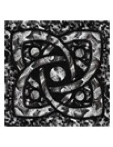 Тако напольная вставка Галактика платина рифл., 6,6*6,6