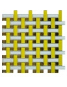 Grand Kerama Мозаика 1080 плетенка желтая  280 x 280