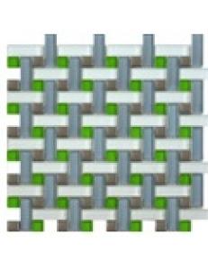 Grand Kerama Мозаика 1083 плетенка серая 280х280