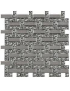Grand Kerama Мозаика 1082 плетенка платина - платина рифл., 280х280