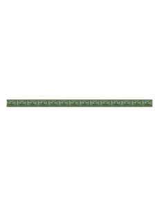 Бордюр Агат люстрированый зеленый, 1,3*20