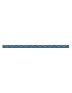Бордюр Агат люстрированый голубой, 1,3*20
