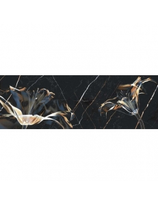 Dark marble декор чёрный Д 210 082