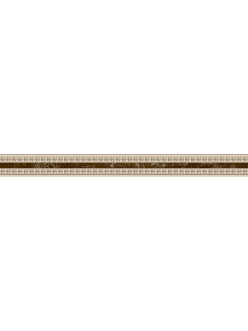 EMPERADOR бордюр узкий коричневый / БУ 66031