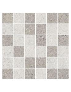 Gray мозаика микс серая / М 01073