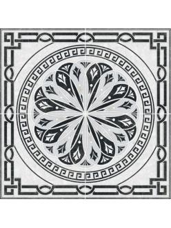 Плитка TECHNO панно напольное серое