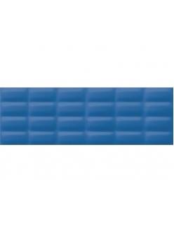 Плитка Blue glossy pillow 25X75
