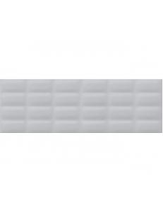 Grey glossy pillow 25X75