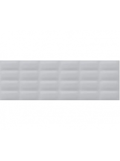 Плитка Grey glossy pillow 25X75