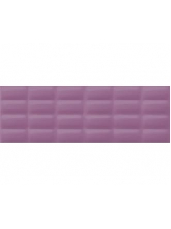 Плитка Violet glossy pillow 25X75