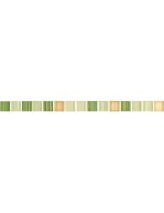 зелена мозаїка фриз 45х2,8