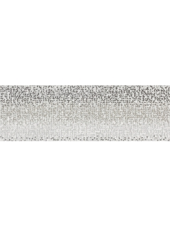 Плитка Mirror Grey Inserto Geo 25X75