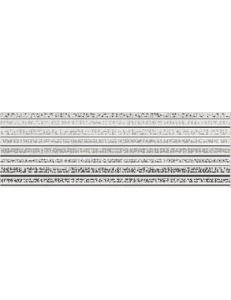 Mirror Grey Inserto Lines 25X75
