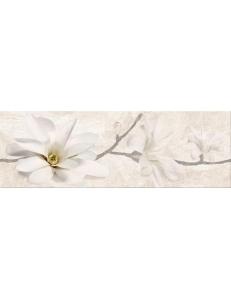 Stone Flowers Beige Inserto 25X75