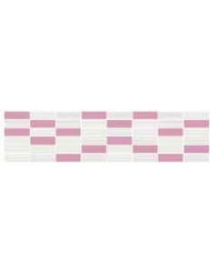 TENSA WHITE-PINK MOSAIC 14,7X60