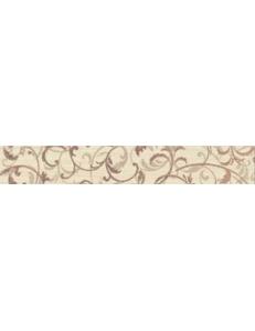 Зебрано крем орнамент фриз 30x5,4