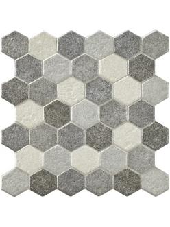Плитка Pamesa HOME HEXAGONO Gris 30 x 30