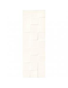 Paradyz Daikiri Crema Struktura Kostki Sciana 25 x 75