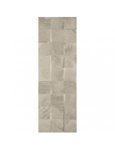 Paradyz Daikiri Grys Struktura Wood Kostki Sciana 25 x 75