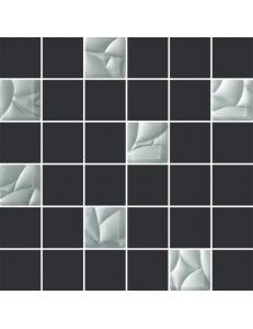 Paradyz Esten Grafit/Silver Mozaika 29,8 x 29,8