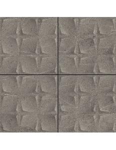 Paradyz Minimal Stone Grafit Mozaika Prasowana K.4,8x4,8 29,8 x 29,8