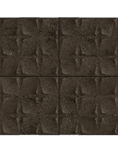 Paradyz Minimal Stone Nero Mozaika Prasowana K.4,8x4,8 29,8 x 29,8
