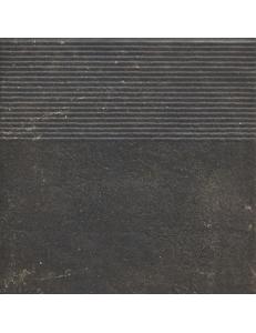 Paradyz Scandiano Brown Stopnica Prosta 30x30