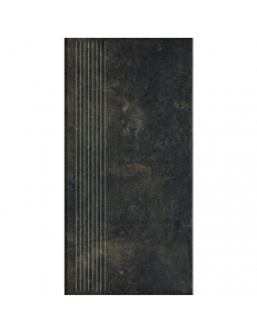 Paradyz Scandiano Brown Stopnica Prosta 30x60