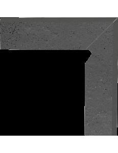 Paradyz Semir Grafit Cokol Schodowy Dwuelemtntowy Prawy 8,1x30
