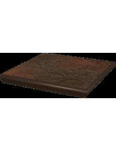 Paradyz Semir Brown Stopnica Kapinosem Narozna 33x33
