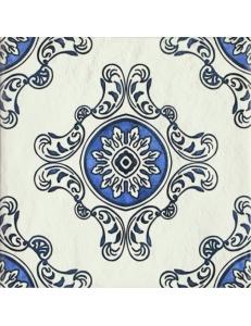 Paradyz Sevilla Azul Gres Szkl. Struktura Dekor В 19,8 х 19,8