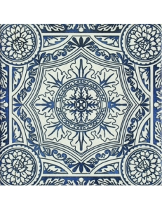 Paradyz Sevilla Azul Gres Szkl. Struktura Dekor Е 19,8 х 19,8