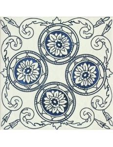 Paradyz Sevilla Azul Gres Szkl. Struktura Dekor С 19,8 х 19,8