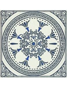 Paradyz Sevilla Azul Gres Szkl. Struktura Dekor D 19,8 х 19,8