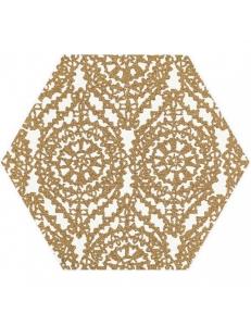 Paradyz Shiny Lines Gold Heksagon Inserto A 19,8 x17,1