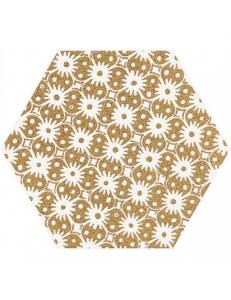 Paradyz Shiny Lines Gold Heksagon Inserto D 19,8 x17,1